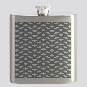 Abstract Decorative Links Pattern Flask