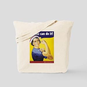 Nurses Can Do it! Tote Bag