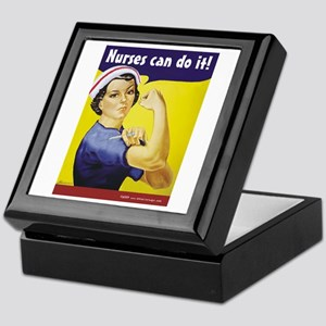 Nurses Can Do it! Keepsake Box