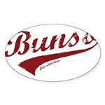 Bunso Sticker (Oval)