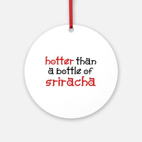 sriracha Ornament (Round)