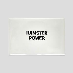 hamster power Rectangle Magnet
