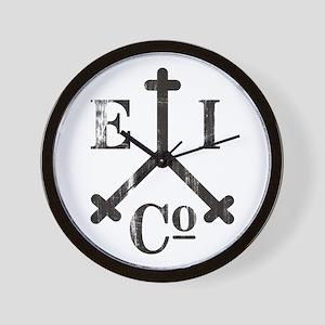 East India Trading Company Logo Wall Clock