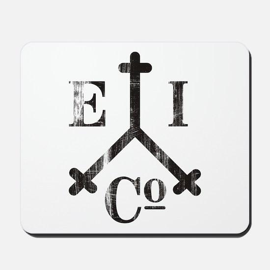 East India Trading Company Logo Mousepad