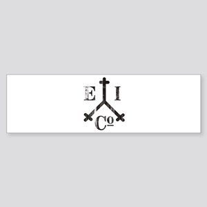 East India Trading Company Logo Bumper Sticker