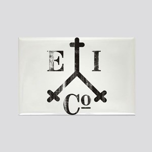East India Trading Company Logo Rectangle Magnet