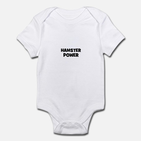 hamster power Infant Bodysuit