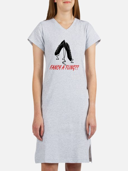fancy a fling Women's Nightshirt
