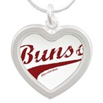 Bunso Silver Heart Necklace