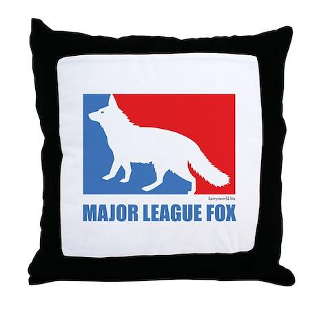 ML Fox Throw Pillow