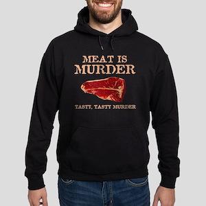 Meat is Tasty Murder Hoodie