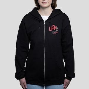 Love You More! Women's Zip Hoodie