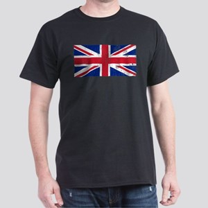 Vintage Union Jack Dark T-Shirt