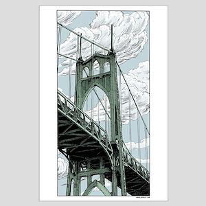 St. Johns Bridge Posters Large Poster