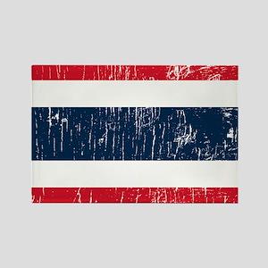 Vintage Thailand Rectangle Magnet
