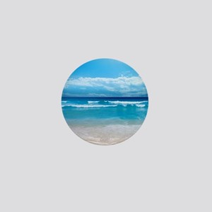 Tropical Wave Mini Button