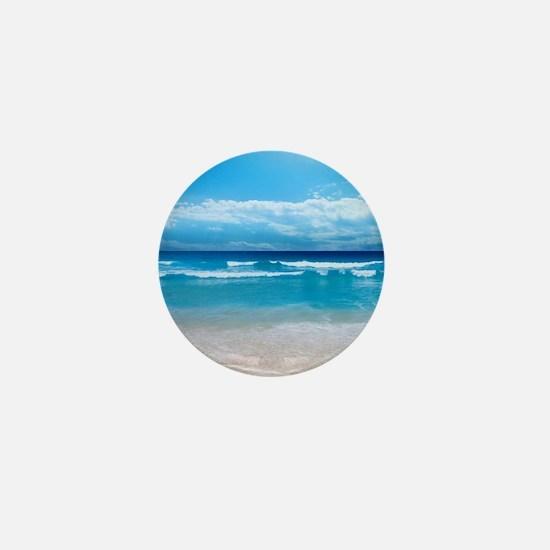 Tropical Wave Mini Button
