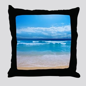 Tropical Wave Throw Pillow