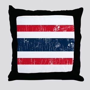 Vintage Thailand Throw Pillow