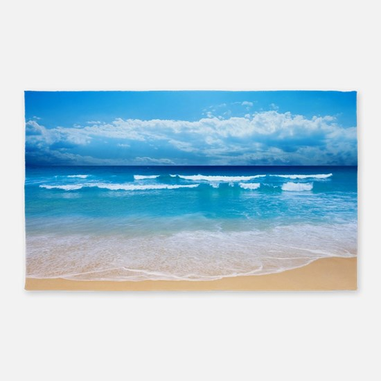 Tropical Wave 3'x5' Area Rug