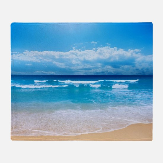 Tropical Wave Throw Blanket