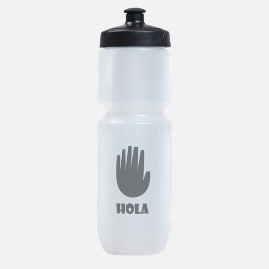 Gravity Fall Hand Vector with Quote Sports Bottle
