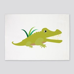 Crocodile 5'x7'Area Rug