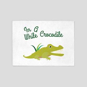 In Awhile Crocodile 5'x7'Area Rug