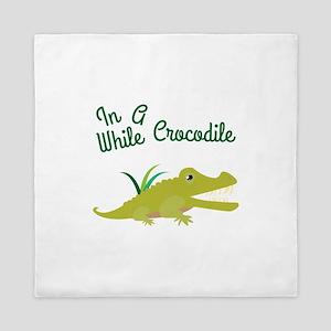 In Awhile Crocodile Queen Duvet