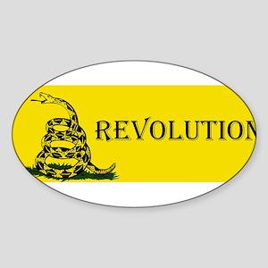 revoltuion gadsden Sticker