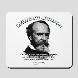 William James 11 Mousepad