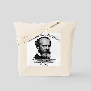 William James 11 Tote Bag
