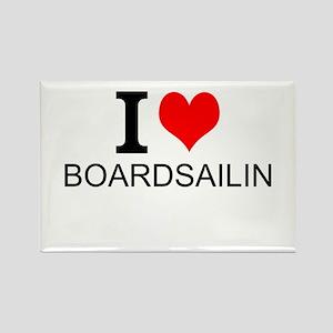 I Love Boardsailing Magnets