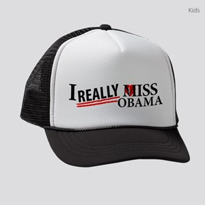 I Really Miss Obama Kids Trucker hat