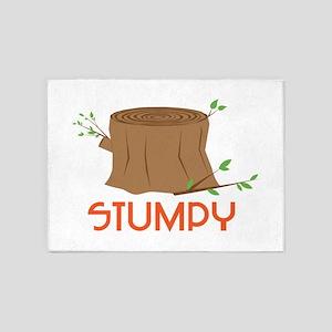 Stumpy 5'x7'Area Rug