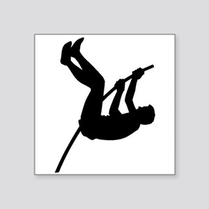 Pole Vaulter Silhouette Sticker