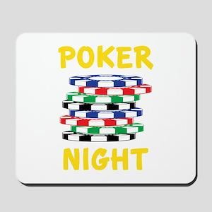 Poker Night Mousepad