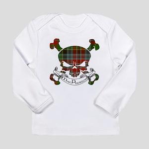 MacPherson Tartan Skull Long Sleeve Infant T-Shirt