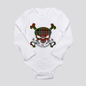 MacPherson Tartan Skul Long Sleeve Infant Bodysuit