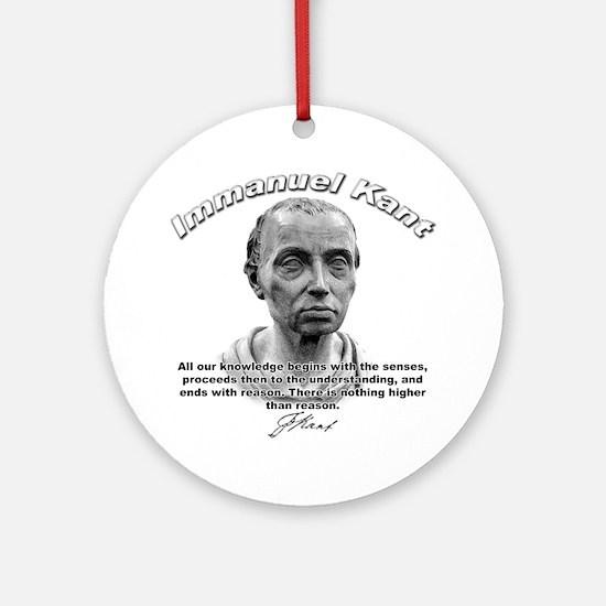 Immanuel Kant 01 Ornament (Round)
