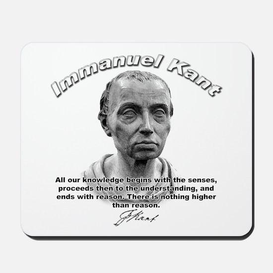 Immanuel Kant 01 Mousepad