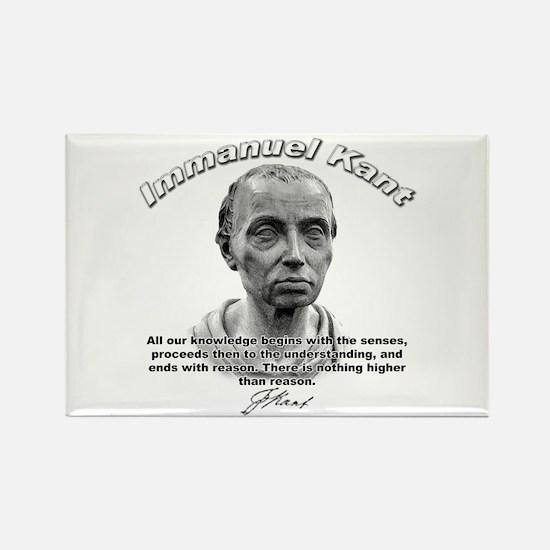 Immanuel Kant 01 Rectangle Magnet