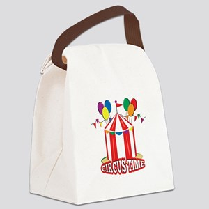 Circus Time Canvas Lunch Bag
