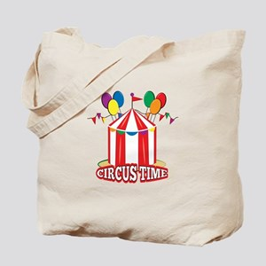 Circus Time Tote Bag