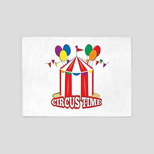 Circus Time 5'x7'Area Rug