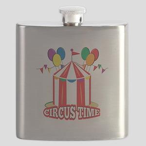 Circus Time Flask