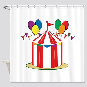 Big Top Shower Curtain