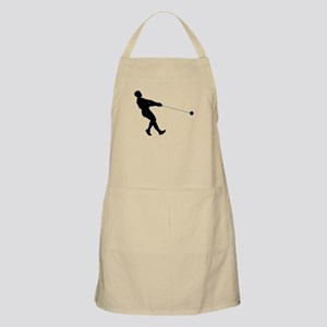 Hammer Throw Silhouette Apron