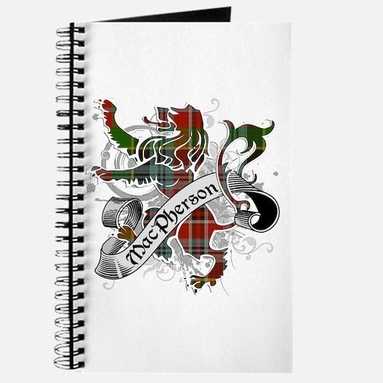 MacPherson Tartan Lion Journal