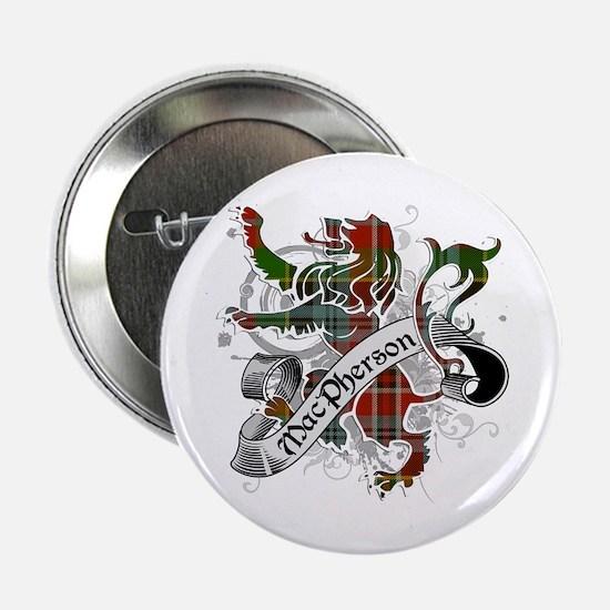 """MacPherson Tartan Lion 2.25"""" Button"""